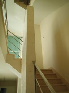 Escalera vivienda unifamiliar