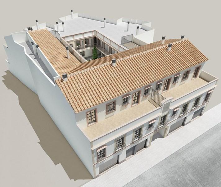 Edificio Helios, Lora del Río (Sevilla)