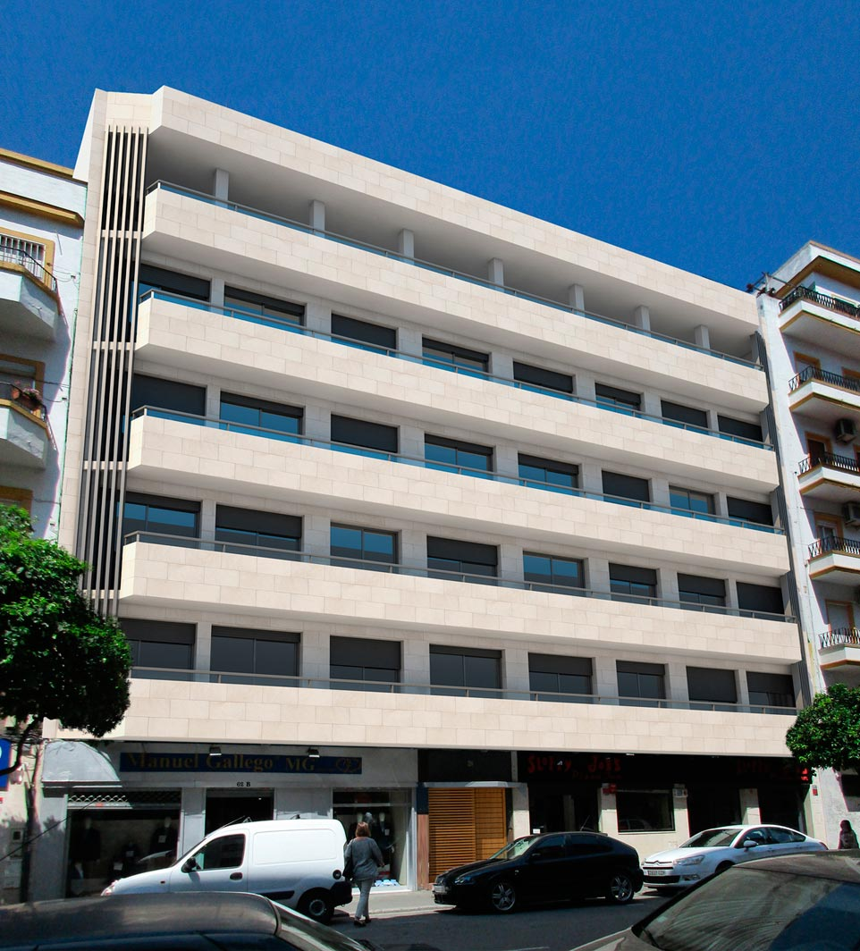 Edificio de 30 viviendas en régimen de cooperativa, C/ Asunción, 62 (Sevilla)