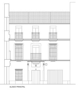 Rehabilitación de edificio en Barrio de la Judería (Sevilla)