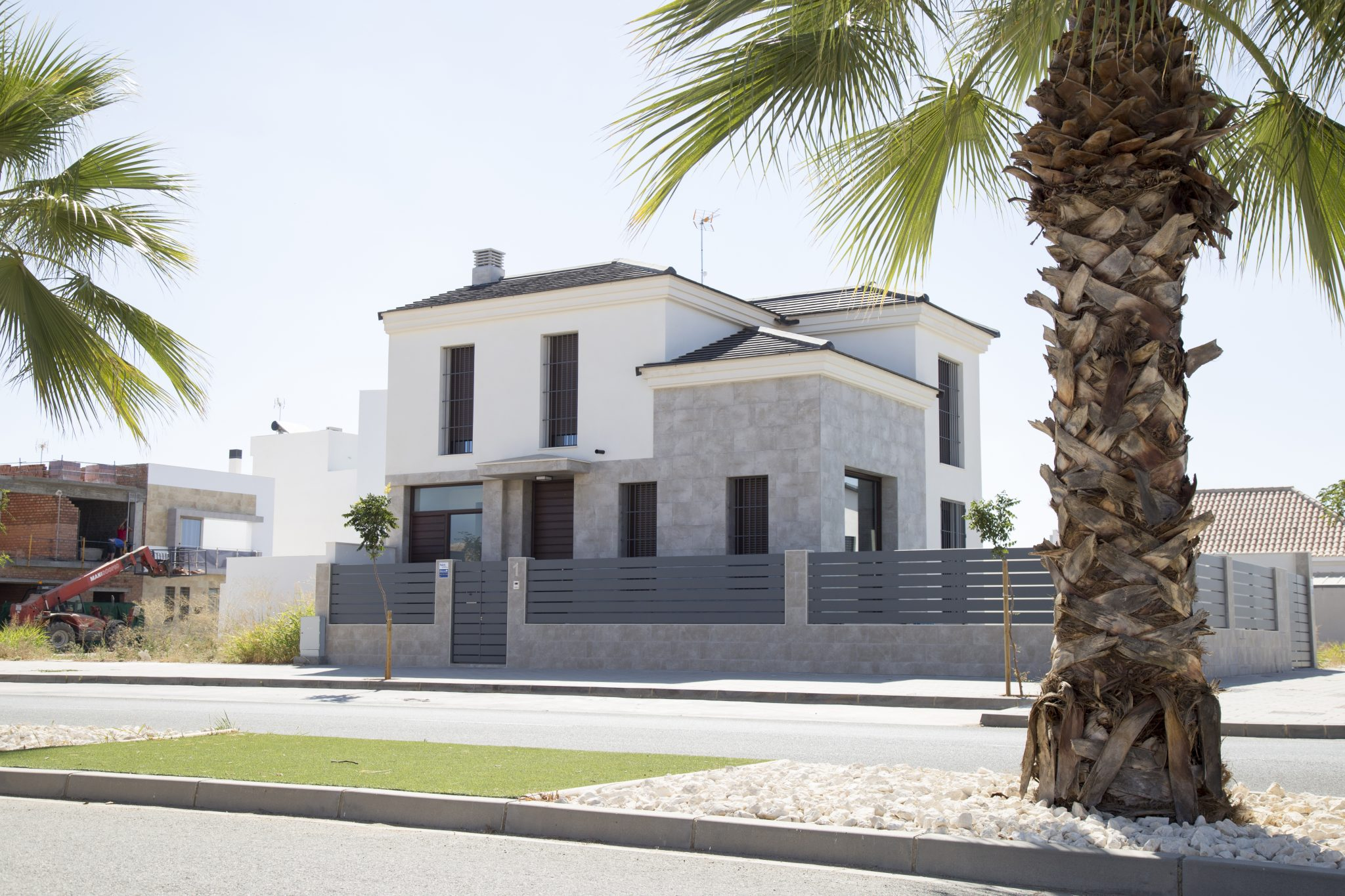 vivienda pareada en la vega del Guadalquivir