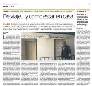 La creciente demanda de clientes que buscan rehabilitar su vivienda como alojamiento destinado a turistas en Viva Sevilla