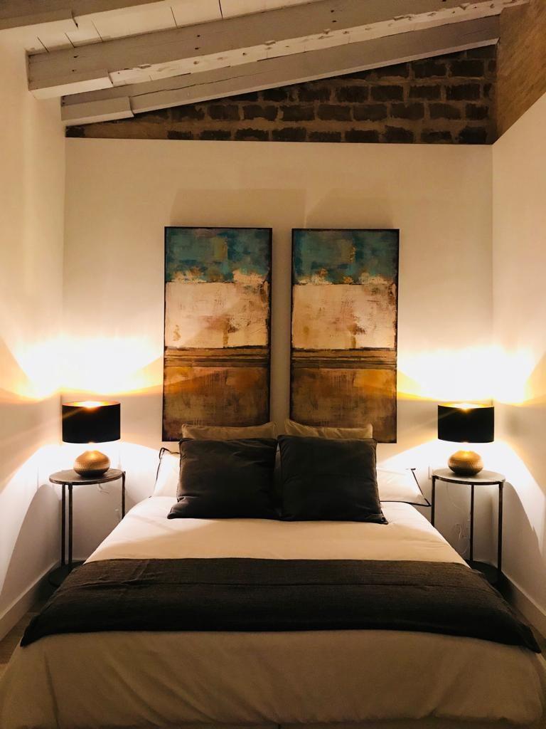 Dormitorio del edificio en rehabilitación vivienda unifamiliar en calle Sol