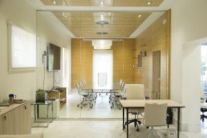 Sala de reuniones del edifico de oficinas avenida de la palmera
