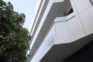 La fachada principal