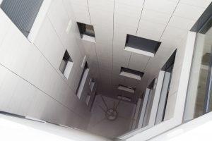 Patio de edificio de viviendas C/Asunción 62