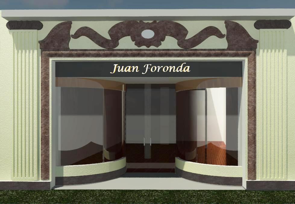 Imagen por ordenador reforma comercial calle Tetuán de Sevilla