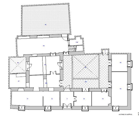 Proyecto de adecuación para usos turísiticos de casa histórica en la provincia de Sevilla.