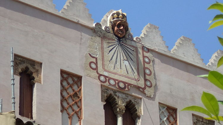 reloj de sol catedral de Sevilla